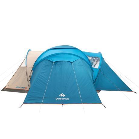 tente de camping familiale arpenaz 6 3 6 personnes 3. Black Bedroom Furniture Sets. Home Design Ideas