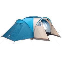 Tent 6 personen met bogen ARPENAZ 6.3 | 3 slaapcompartimenten