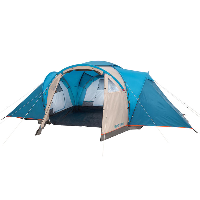 Camping Tent (Arched) ARPENAZ 6.3 - 6 Persons 3 rooms