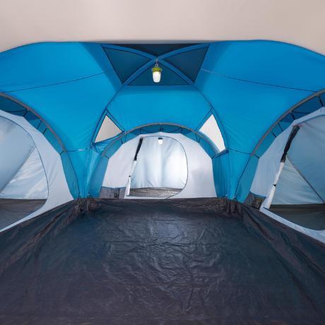 Tente de camping familiale arpenaz 6 3 i 6 personnes quechua - Tente camping 3 chambres ...