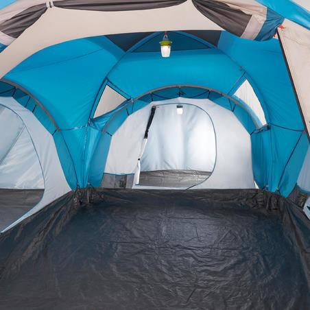 Casa De Campaña Familiar Grande Camping Quechua Arpenaz 6.3 6 Personas UPF30