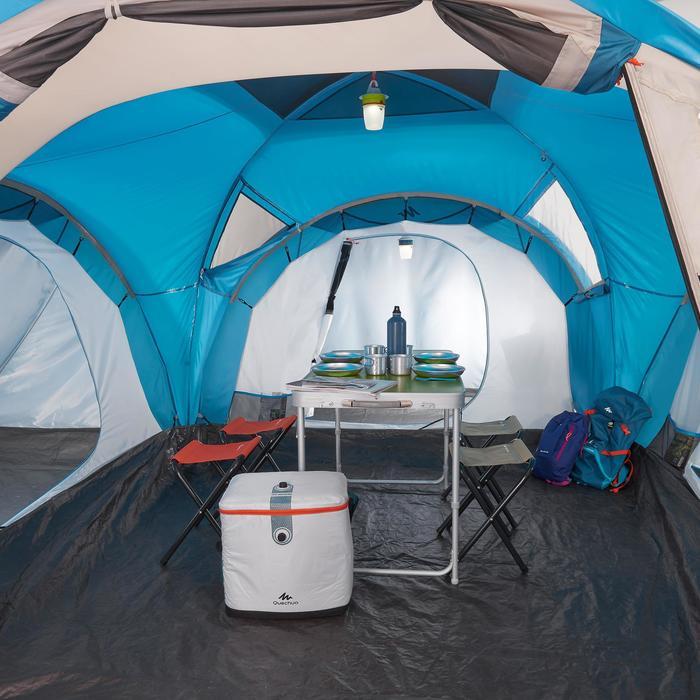 Tienda de Campaña Quechua Arpenaz 6.3 | 6 Personas 3 Habitaciones Varillas