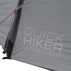 Trekkingtent / bivaktent Quickhiker Ultralight   2 personen lichtgrijs - 202970