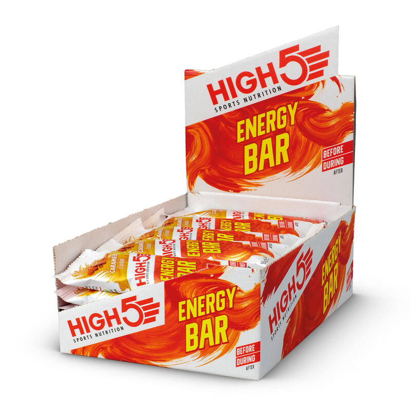 Energy Bar Caramel 25 x 55g