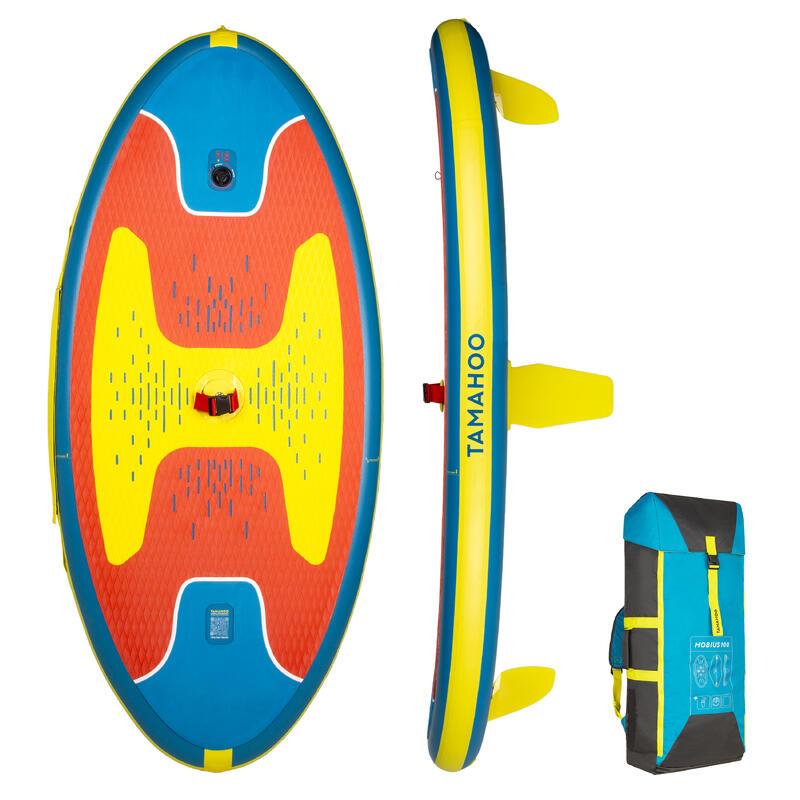 Opblaasbaar windsurfboard 100 rood