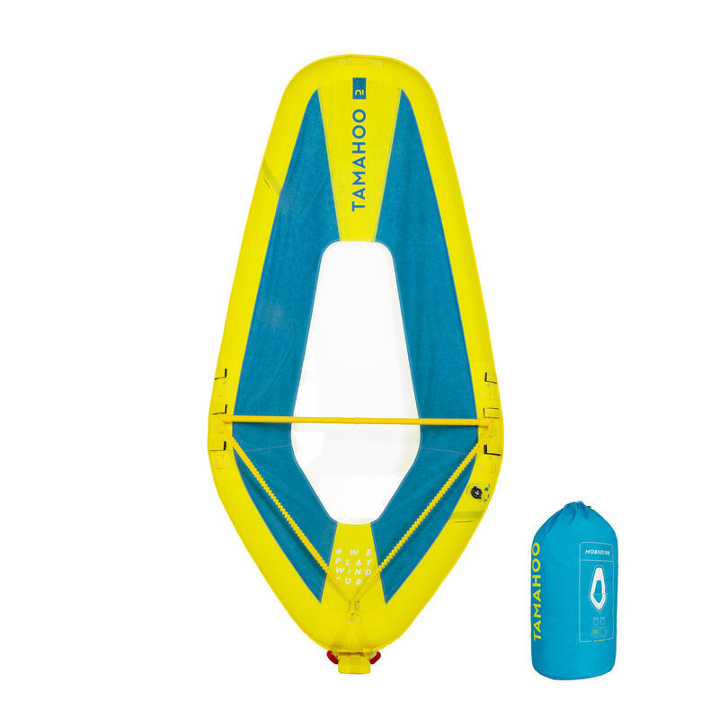 INFLATABLE WINDSURFING SAIL 100 S/M