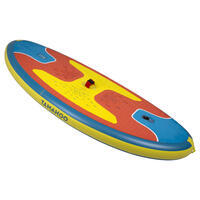 INFLATABLE WINDSURFING BOARD 100 - RED