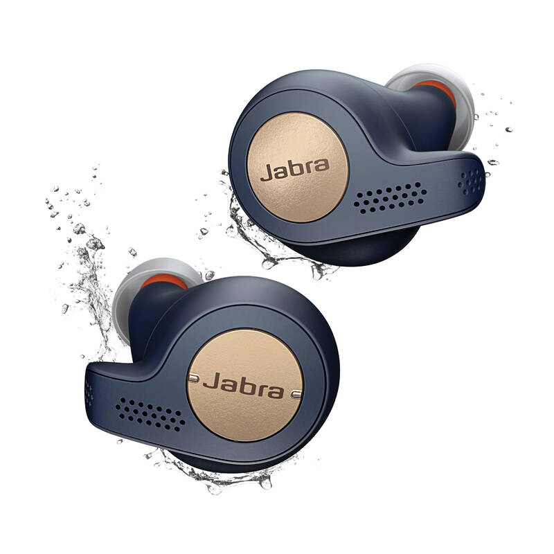 SLUCHÁTKA A MP3 Atletika a běh - SLUCHÁTKA ELITE ACTIVE 65T  JABRA - Běh