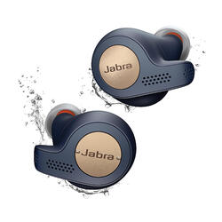 Auricolari wireless JABRA ELITE ACTIVE 65T rame-azzurro