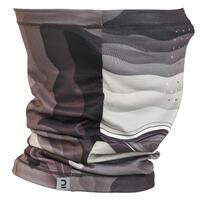 Fishing Neck Gaiter 500 ANTI-UV - Grey/Black