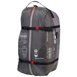 Trekkingtent / bivaktent Quickhiker Ultralight | 4 personen lichtgrijs - 203032