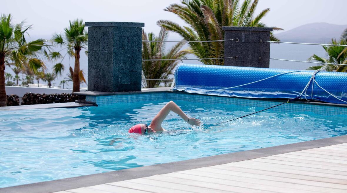 Tout savoir sur l'élastique de nage statique