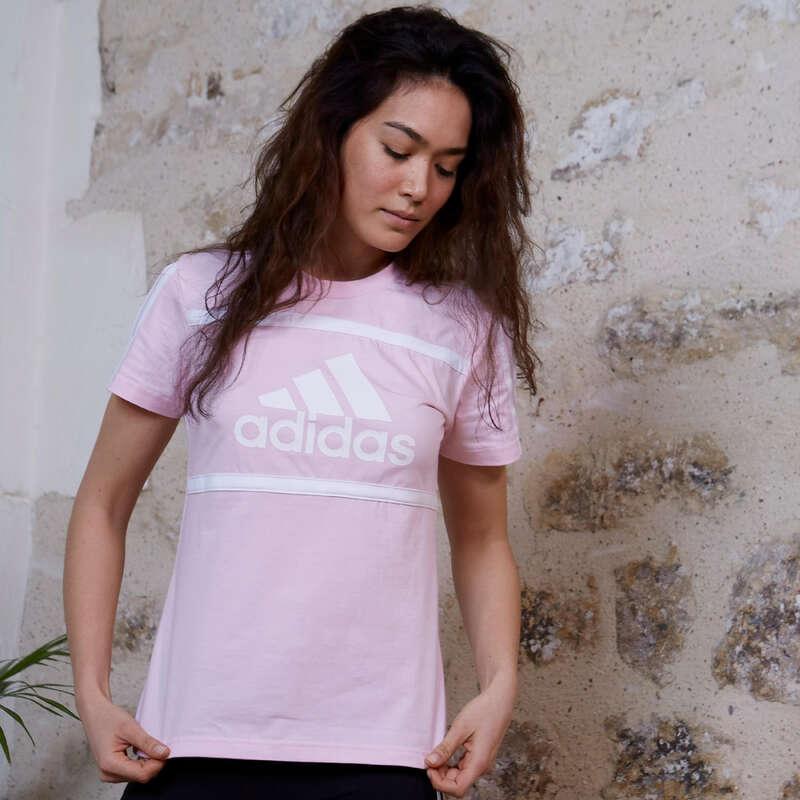 NŐI PÓLÓ, LEGGING, RÖVIDNADRÁG Fitnesz - Női Adidas póló ADIDAS - Fitnesz ruházat és cipő
