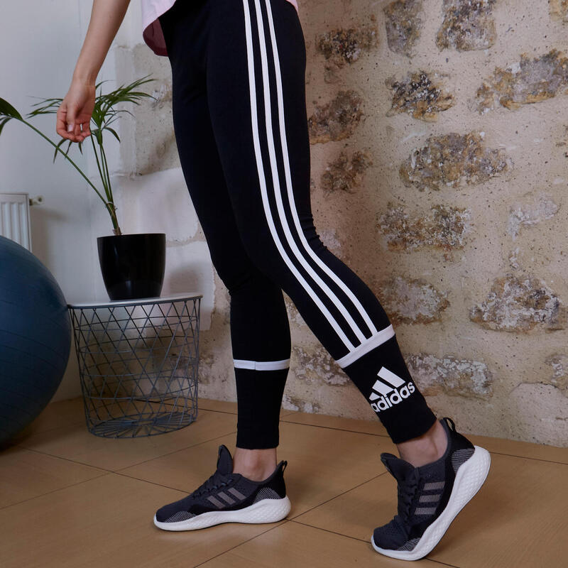 Legging Adidas Fitness Colorblock Noir