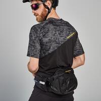 Maillot de vélo de montagne à manches courtes noir