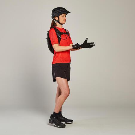 Women's Mountain Bike Shorts ST 500 - Black