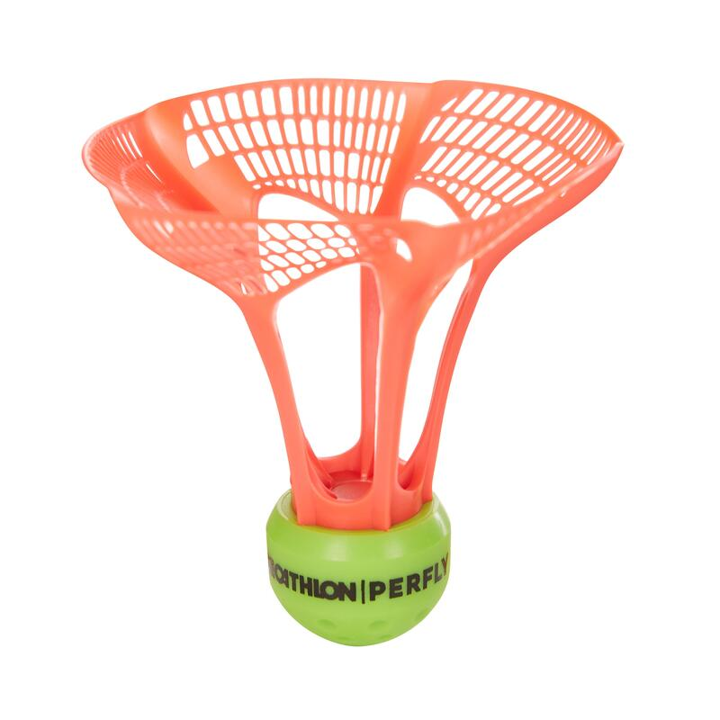 Set 3 Fluturași Badminton PSC930 AIR SHUTTLE Exterior V2
