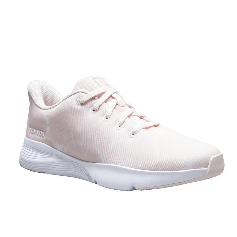 Chaussures de fitness imprimé marbre 120 Femme, révélez votre féminité !