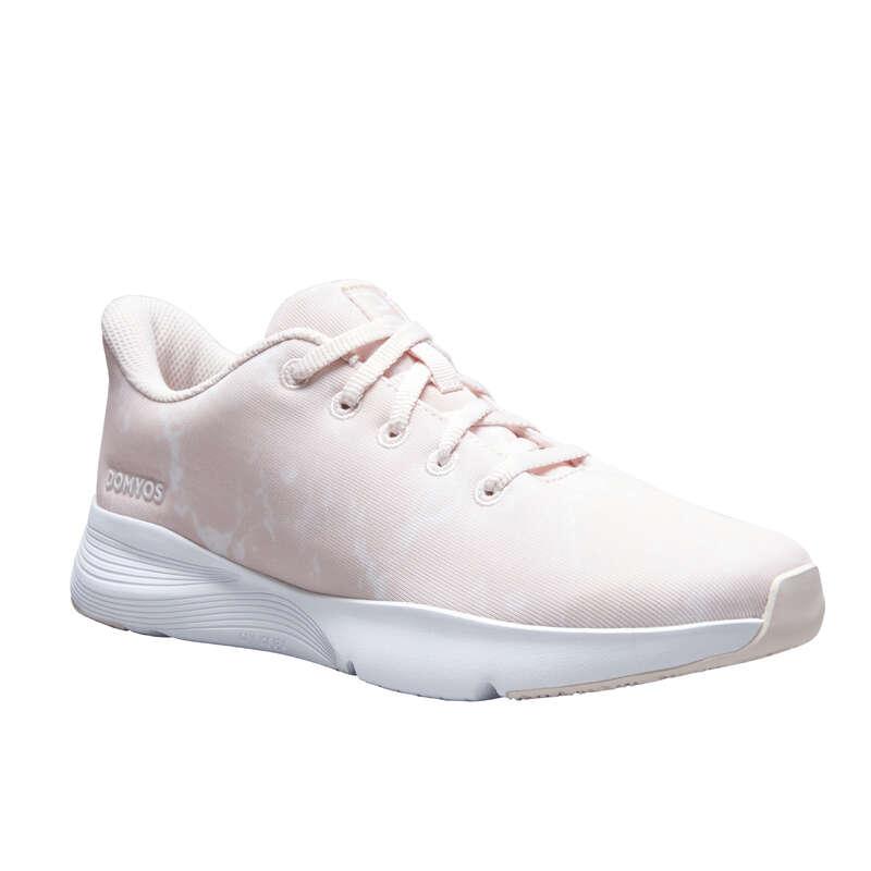 Женские кроссовки низкая интенсивность Большие размеры - Кроссовки с принтом FSH120 DOMYOS - Большие размеры