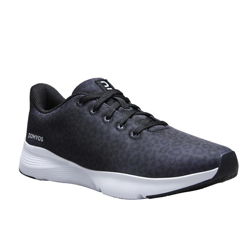 Chaussures de fitness imprimé léopard 120 Femme, révélez votre personnalité !