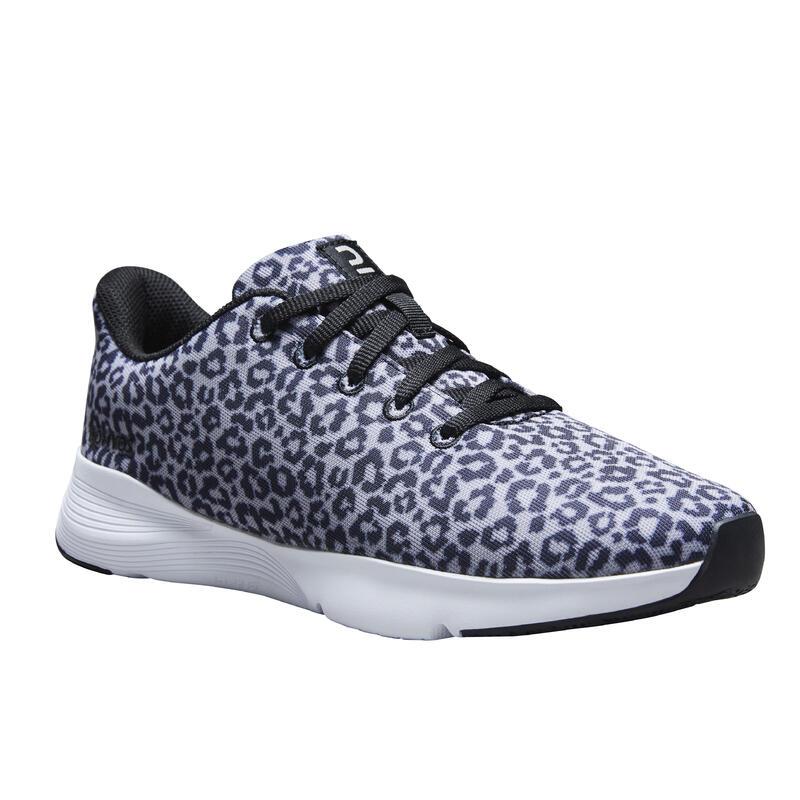 Dámské fitness boty 120 s leopardím potiskem