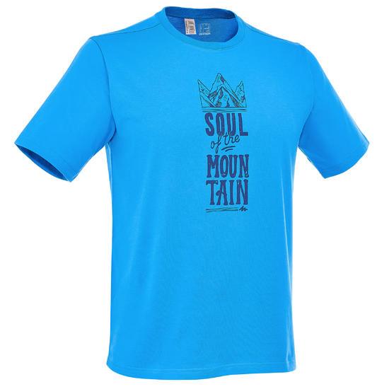Wandel T-shirt met korte mouwen voor heren Techtil 100 gemêleerd - 203183