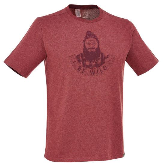 Wandel T-shirt met korte mouwen voor heren Techtil 100 gemêleerd - 203191