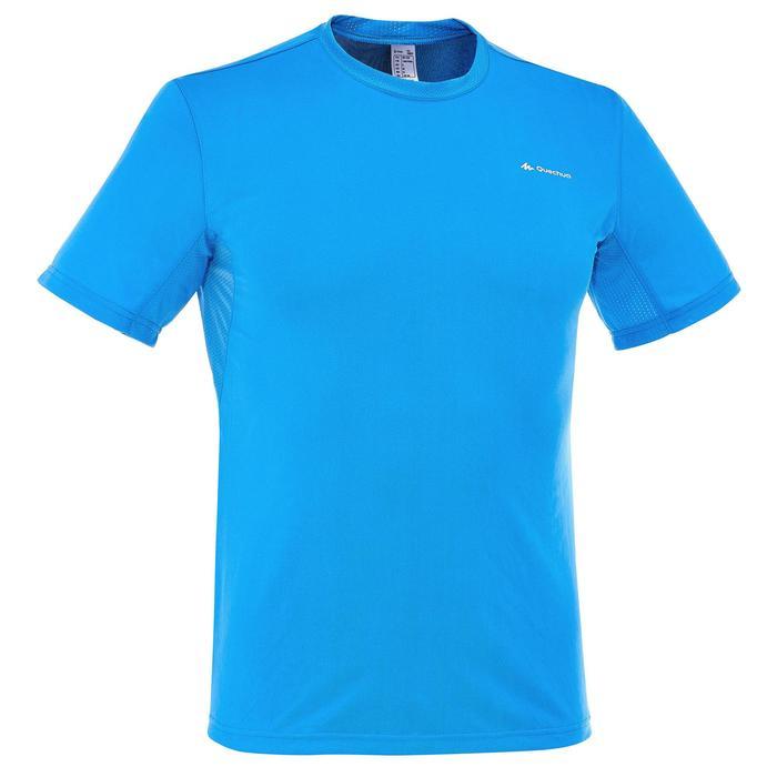 Tee Shirt Randonnée montagne MH100 manches courtes homme Gris Foncé - 203213