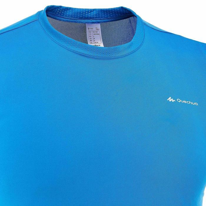 Tee Shirt Randonnée montagne MH100 manches courtes homme Gris Foncé - 203217