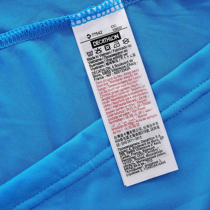 Tee Shirt Randonnée montagne MH100 manches courtes homme Gris Foncé - 203220