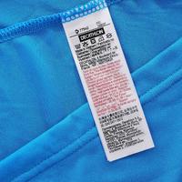 T-shirt Randonnée montagne MH100 manches courtes homme Bleu