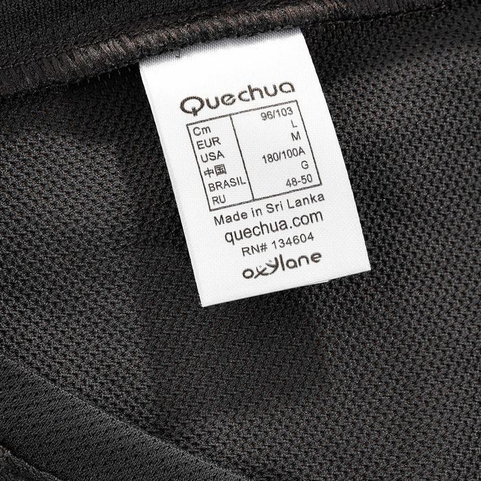 Tee Shirt Manches Courtes Randonnée Tech Fresh 100 homme Gris foncé - 203228