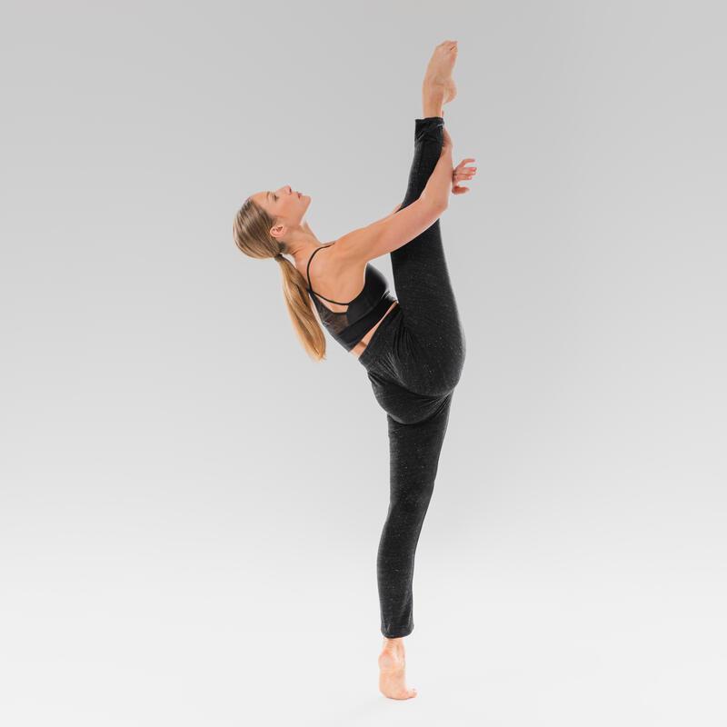 Women's Modern Dance Bra - Black
