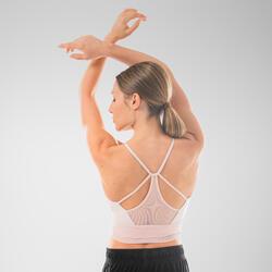 Brassière de danse moderne rose femme
