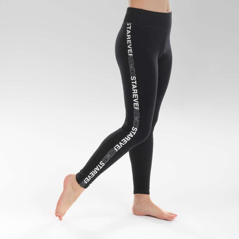 Lány modern és street dance ruházat Tánc, torna - Lány leggings modern tánchoz STAREVER - Fitness - DOMYOS