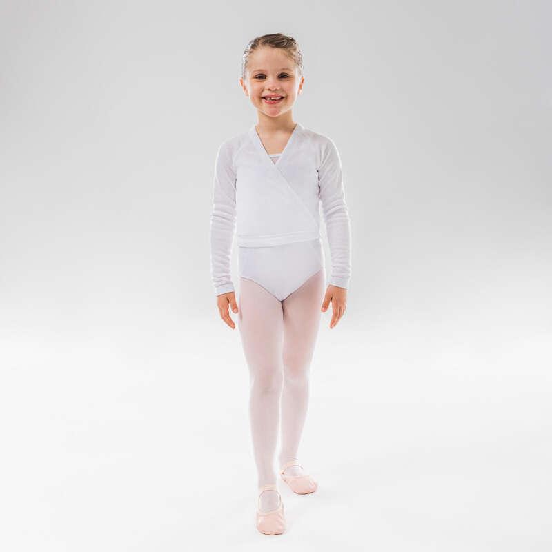DRÄKTER, KLÄD. FÖR KLASSISK BALETT, JUNI Dans, Balett - Omlottröja Balett Junior STAREVER - Dans, Balett
