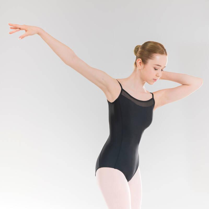 DÍVČÍ TRIKOTY, OBLEČENÍ NA BALET Balet - DRES S TENKÝMI RAMÍNKY STAREVER - Baletní oblečení