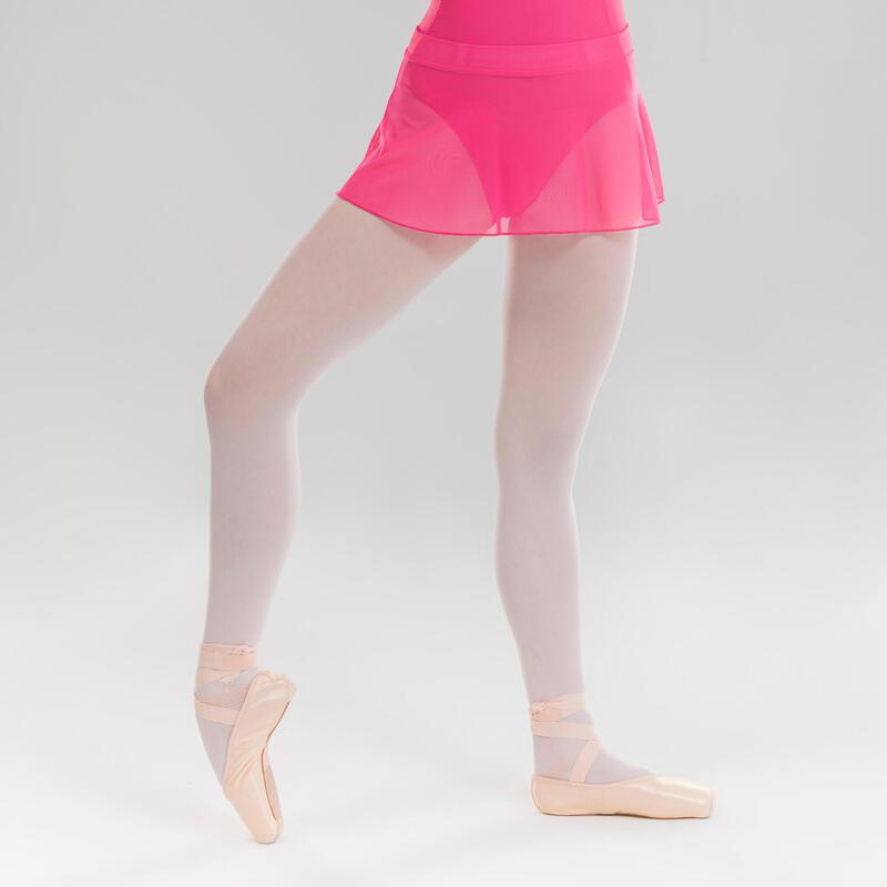 Saia de Dança Clássica em Tule Fúcsia Menina