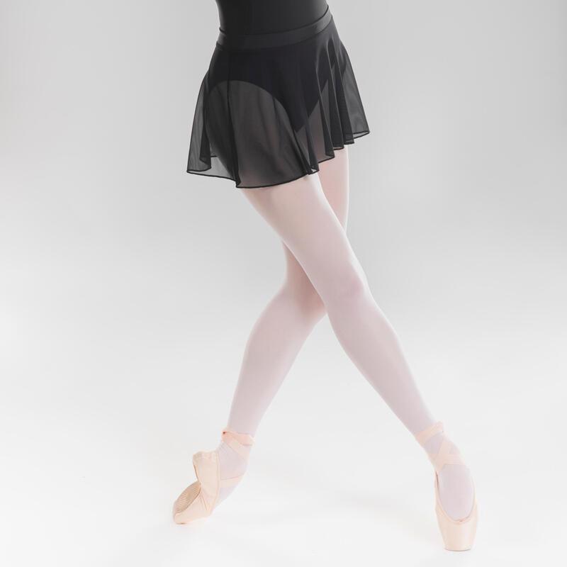 Voile Ballet Skirt Black - Girls