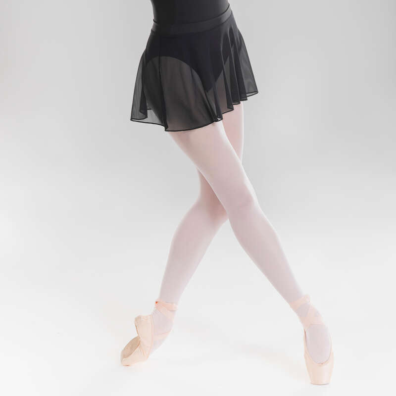 DRÄKTER, KLÄD. FÖR KLASSISK BALETT, JUNI Dans, Balett - Balettkjol voile STAREVER - Dans, Balett