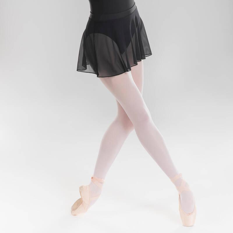DÍVČÍ TRIKOTY, OBLEČENÍ NA BALET Balet - BALETNÍ SUKNĚ ČERNÁ STAREVER - Balet