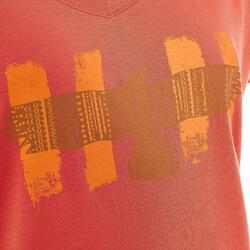 T-shirt korte mouwen trekking dames Arpenaz 100 - 203273
