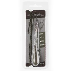 Montage carpe Rig clip ready to fish 90g H6 Pêche de la carpe