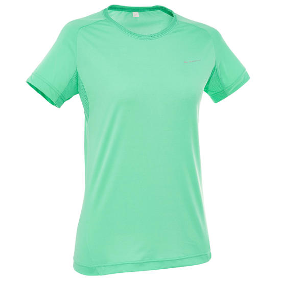 T-shirt korte mouwen trekking Techfresh 50 dames - 203319