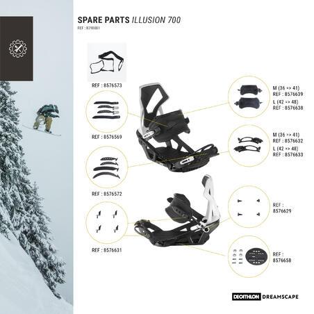 Fixations de planche à neige Illusion700