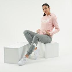 Pantaloni donna Puma grigio-bianco