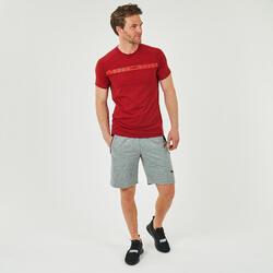 T-Shirt de Ginástica e Pilates Puma Vermelho