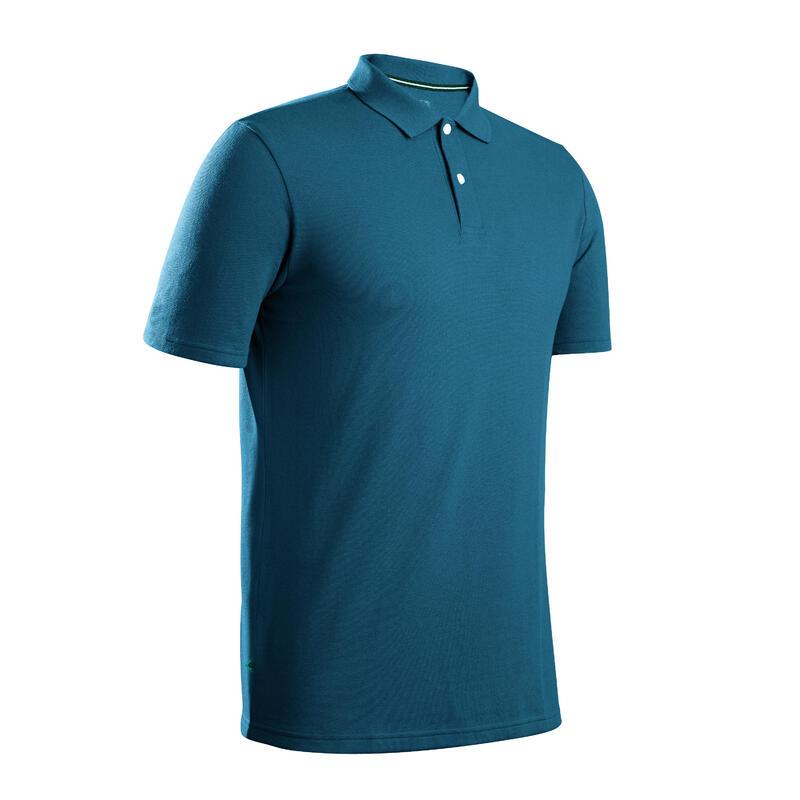 Golfshirts | Golfpolo heren | Korte mouw | Stretch | petrol