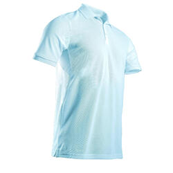 Golf Poloshirt kurzarm WW500 Herren hellblau