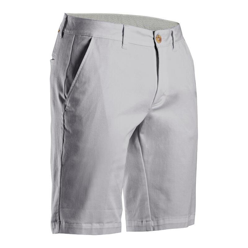 Short de golf homme MW500 gris